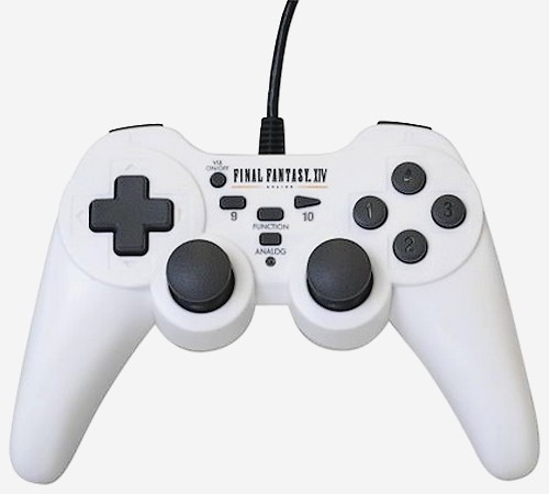Final Fantasy 14 are controller oficial