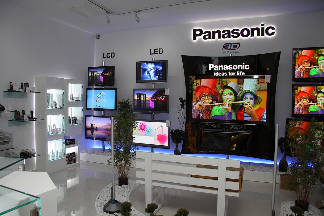 Panasonic Romania: camere noi in magazin nou