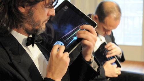 iPad in concert