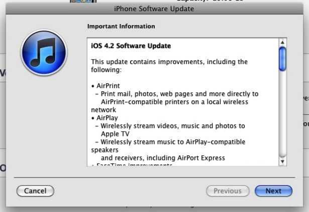 Apple lanseaza iOS 4.2