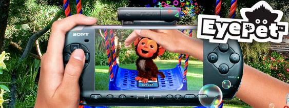 Sony lanseaza EyePet pentru PSP