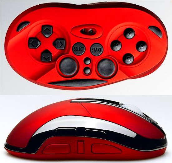 Chameleon X-1: cand maus, cand gamepad