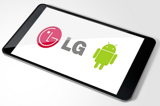 LG aduce la CES o tableta Android de 8,9 inci