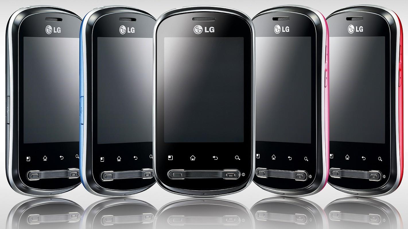 LG Optimus Me, lansat cu Android 2.2