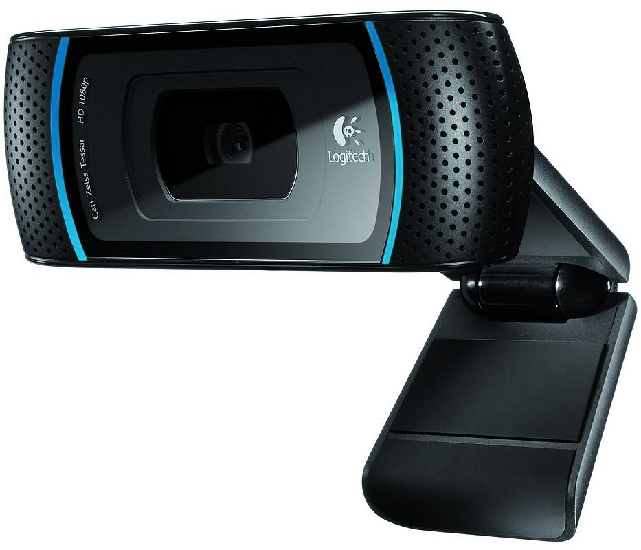 Camera web Logitech HD Pro C910, compatibila cu Mac