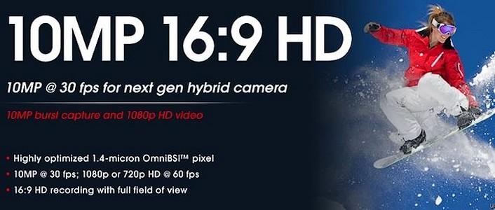 Senzor CMOS cu filmare Full HD
