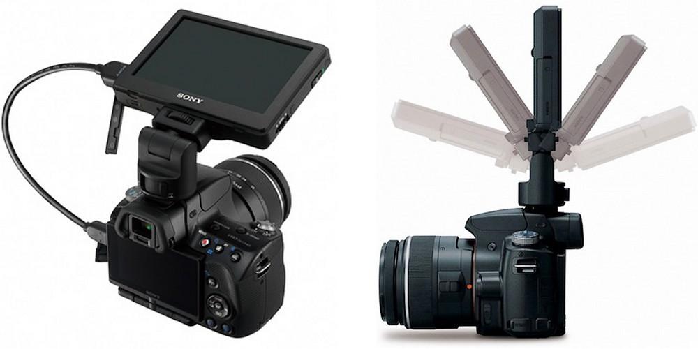 Sony lanseaza LCD de 5 inci atasabil la DSLR-uri
