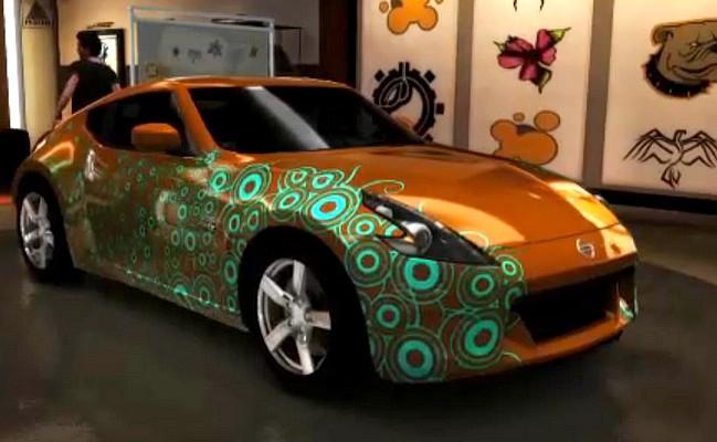 Test Drive Unlimited 2 – Personalizarea masinii