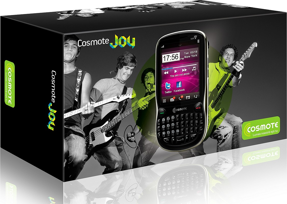 Cosmote are doua telefoane noi, marca proprie: Joy si Sense