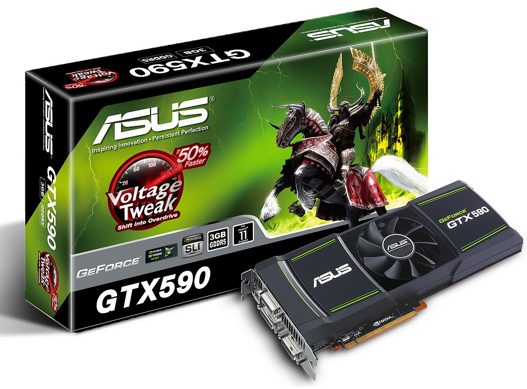 GTX 590 Dual-GPU, noul varf Asus al placilor video