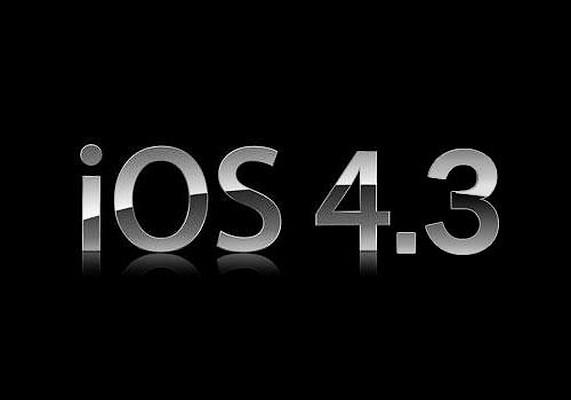 iOS a ajuns la 4.3