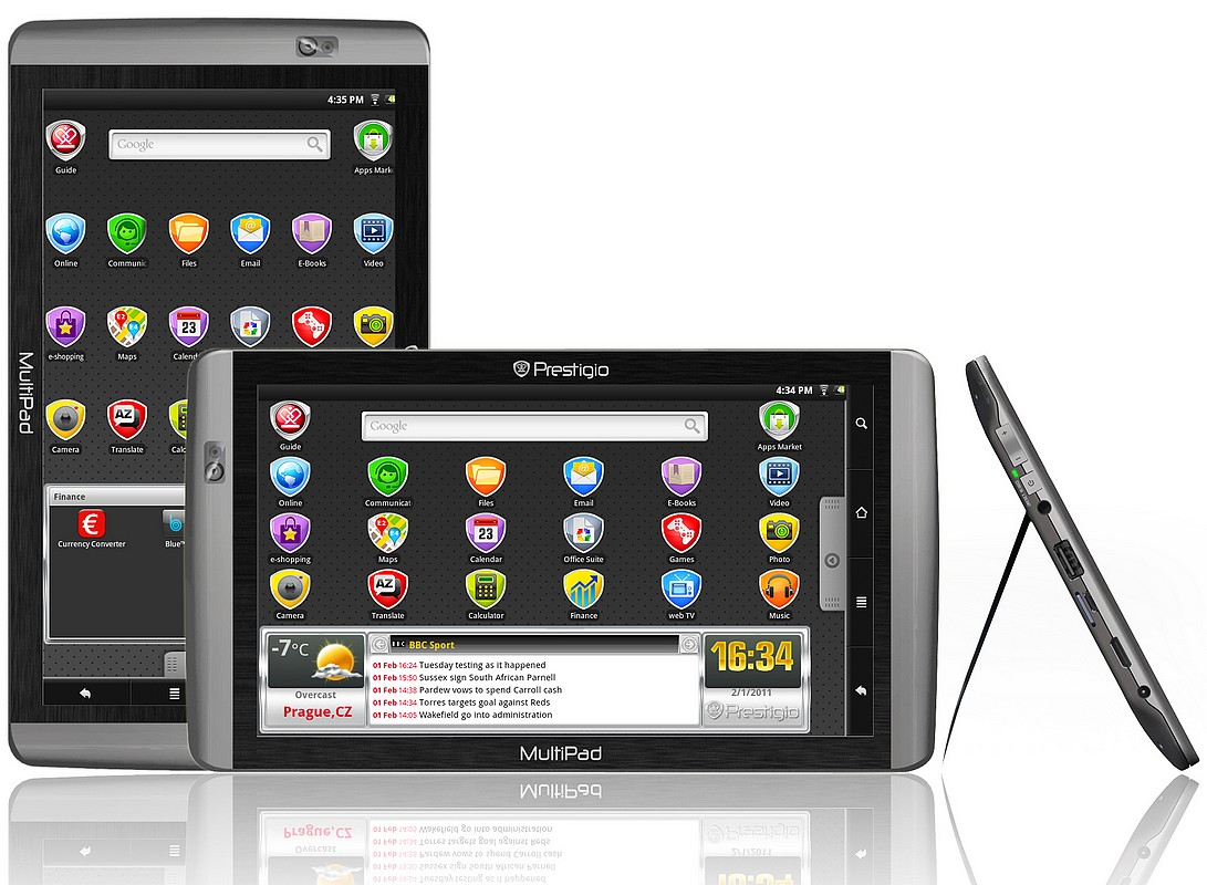 Mai vreti tablete? Prestigio are 3, cu Android 2.2