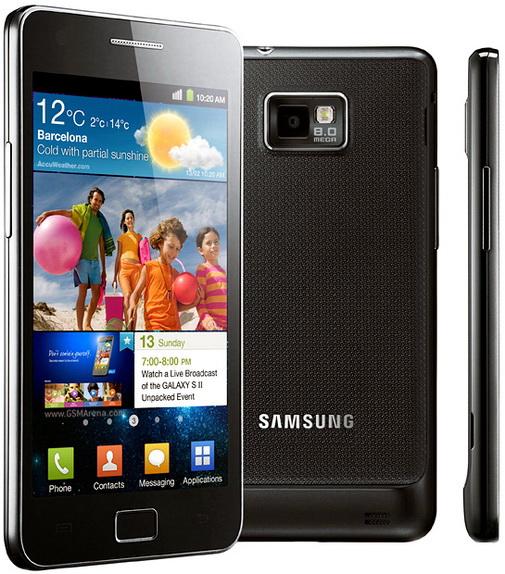 Samsung Galaxy S II vine si la noi din mai