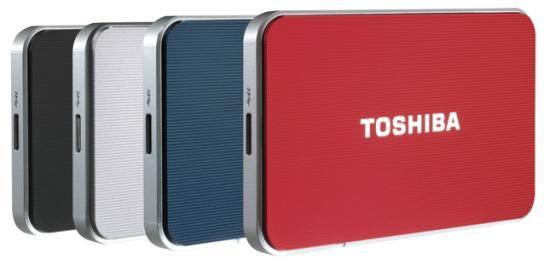 Si Toshiba vine cu HDD-uri USB 3.0