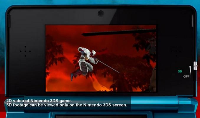 Shinobi debuteaza pe 3DS