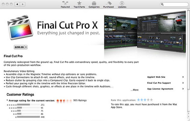 Apple face greseli mari – Final Cut Pro X