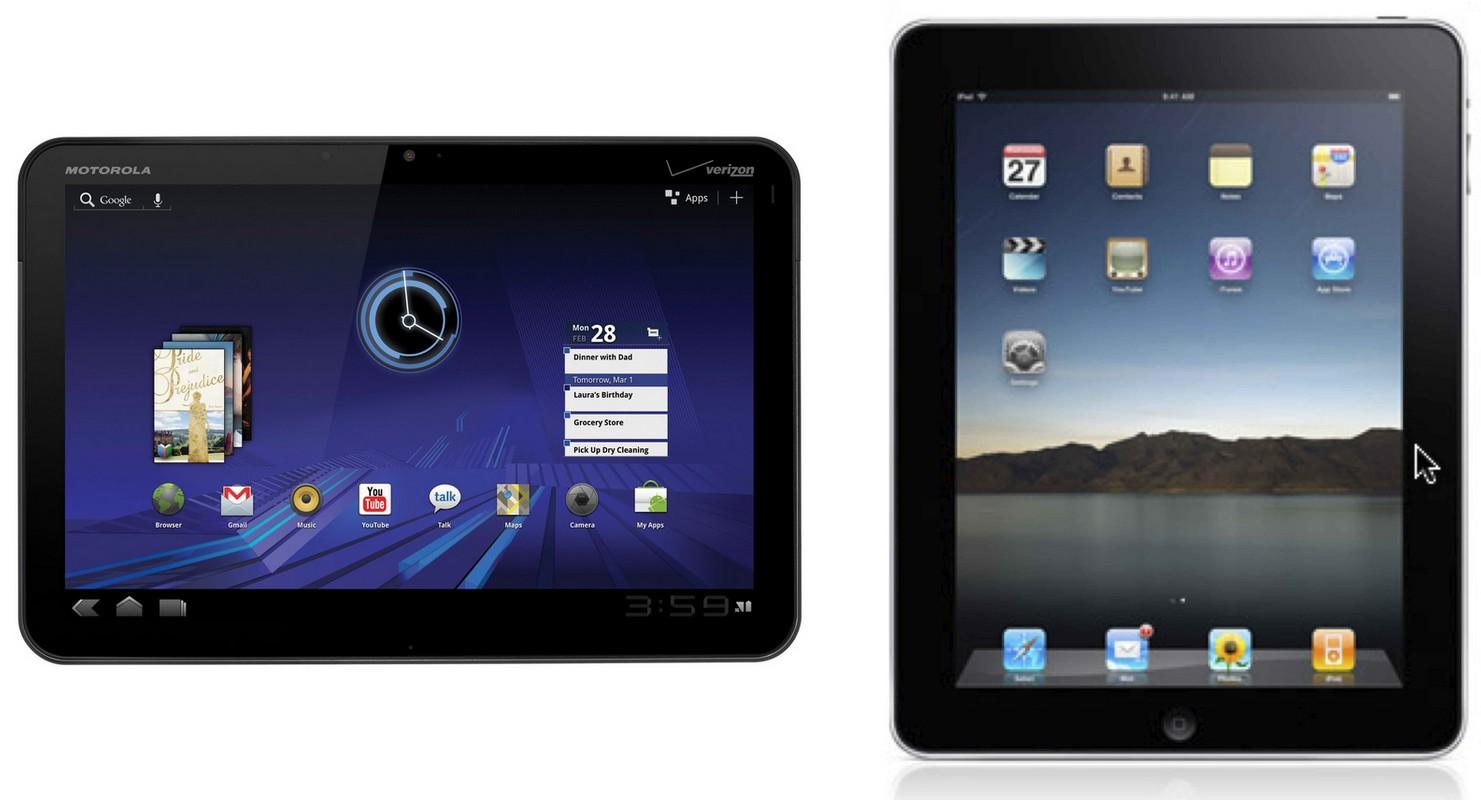 Motorola Xoom ia calea Galaxy Tab 10.1: Interzis in Europa