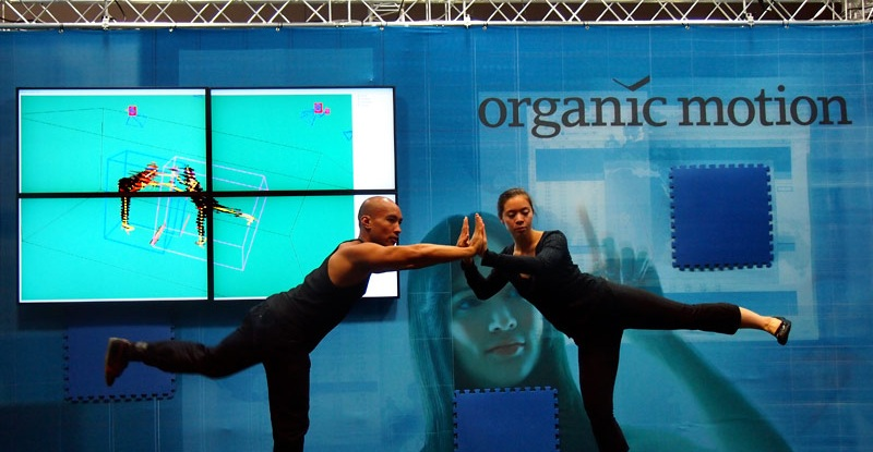 Organic Motion face Motion Capture fara senzori cu Open Stage