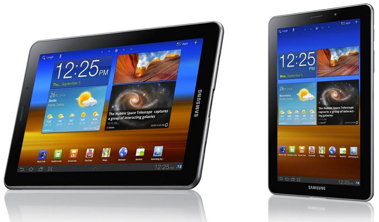 Ecranul Super AMOLED Plus a aparut in prima tableta: Samsung Galaxy Tab 7.7 [+VIDEO]