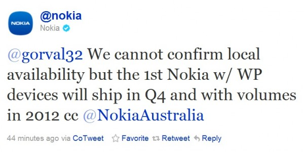 Nokia confirma un telefon cu Windows Phone 7 in 2011