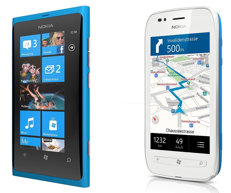 Nokia se lauda cu noile telefoane. Primele Windows Phone-uri, in Romania din 2012
