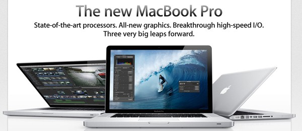 Laptopurile Macbook Pro primesc specificatii mai inalte