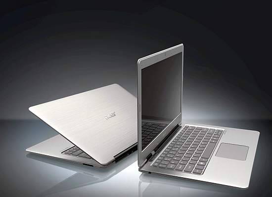 Acer Aspire S3 primeste Intel Core i7