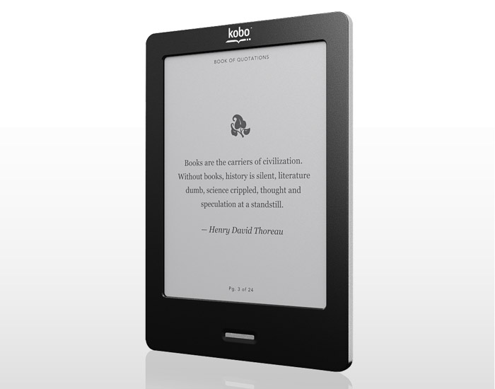 Kobo eReader Touch: Te mai opresti din citit? [REVIEW]