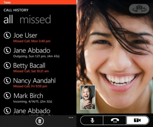 Aplicatia de video chat Tango este disponibila in WP Marketplace