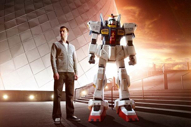 Se pot face roboti imensi din hartie: Gundam de 2 metri