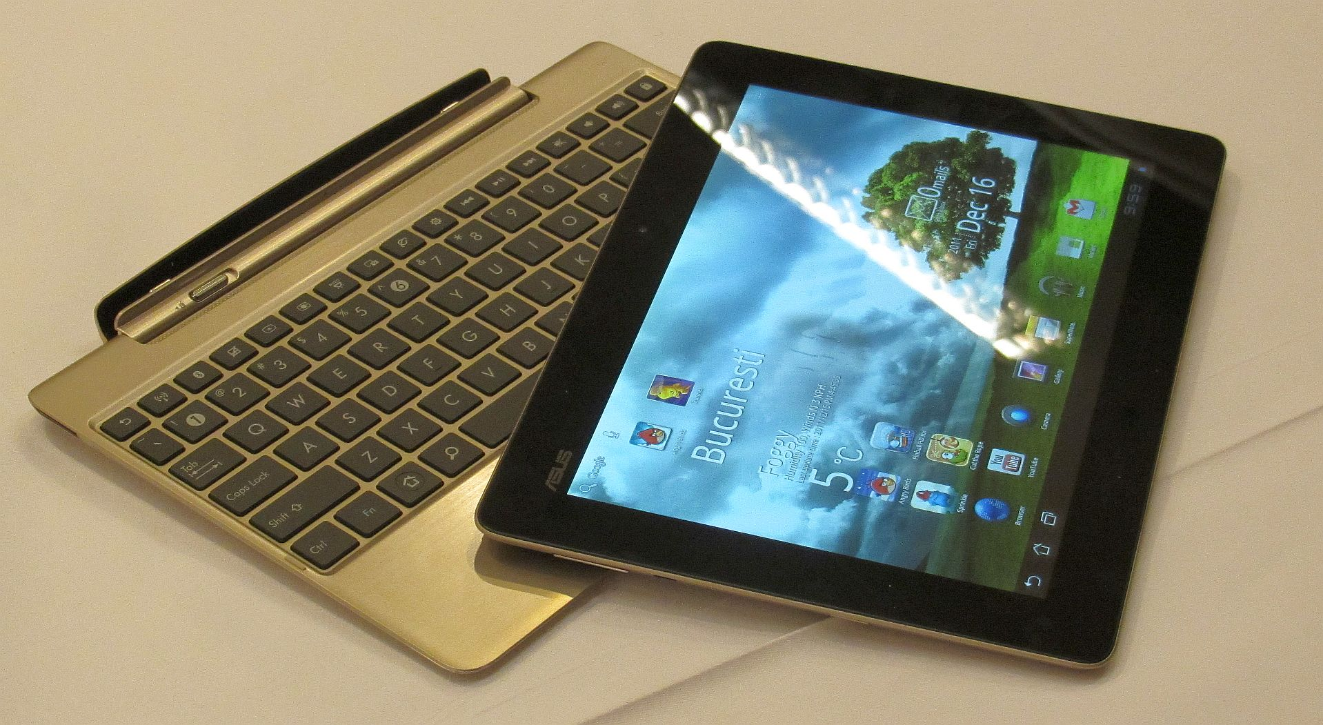 Asus Transformer Prime [Short Hands-on]