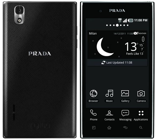 S-a lansat LG Prada Phone 3.0, un smartphone de fite