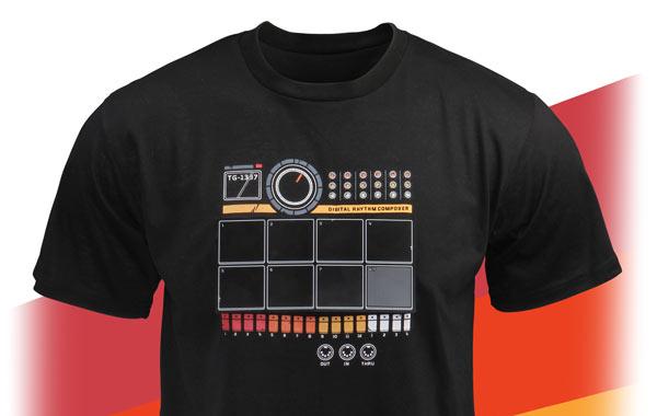 ThinkGeek: Cati dintre prietenii tai au tricou cu tobe?