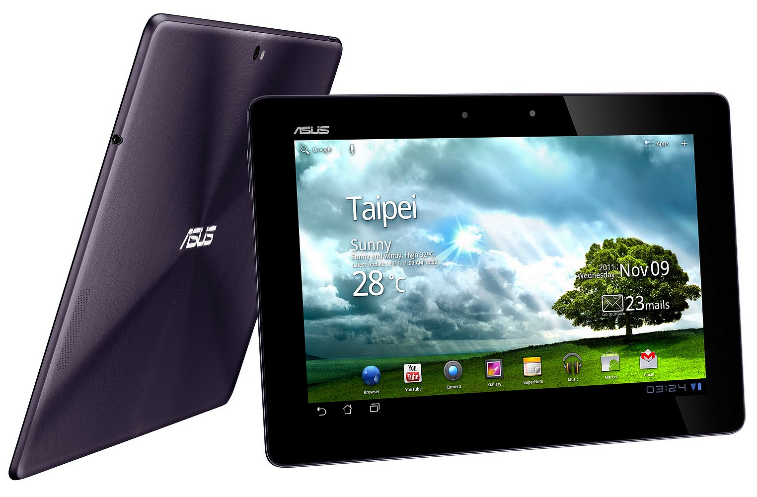 ASUS Transformer Prime are Android 4.0 ICS