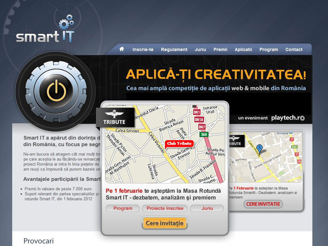 Smart IT: Ne intalnim la Masa Rotunda a aplicatiilor web & mobile