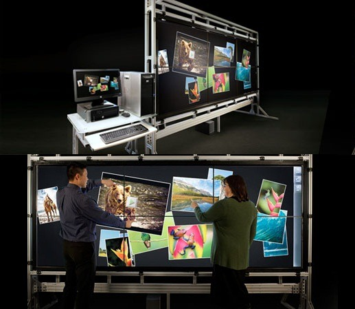 HP VantagePoint in fuga dupa multitouch
