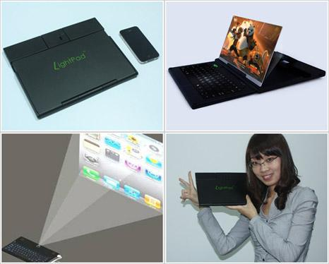 LightPad G1 transforma orice smartphone in laptop