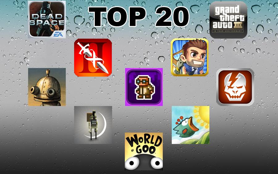 Top 20 Cele mai bune jocuri pentru iOS din 2011 – Partea a 2-a