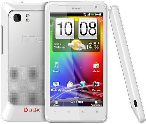 HTC lanseaza primul telefon 4G in Europa