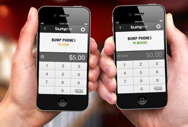 Bump Pay, pentru transferuri de bani intre prieteni