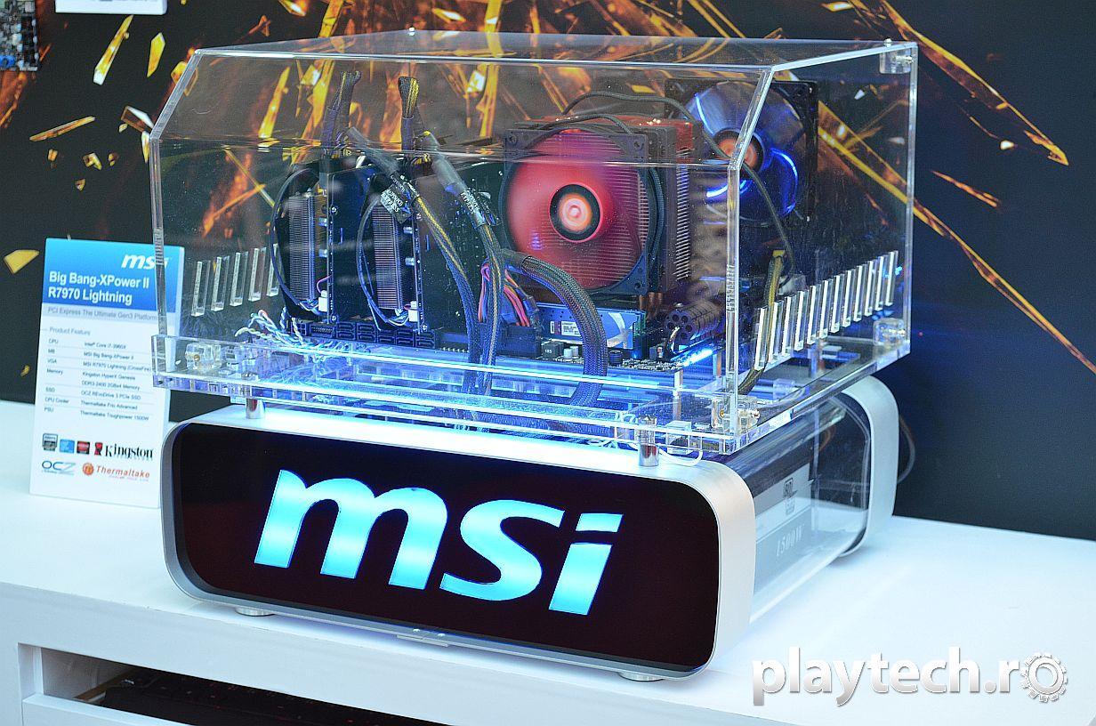 """MSI la CeBIT 2012: placi de baza pentru """"urmatoarea generatie de procesoare Intel"""""""