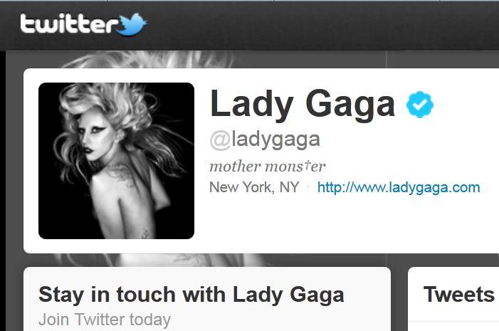 Lady Gaga este cea mai tare pe Twitter – Are 20 milioane de followers!