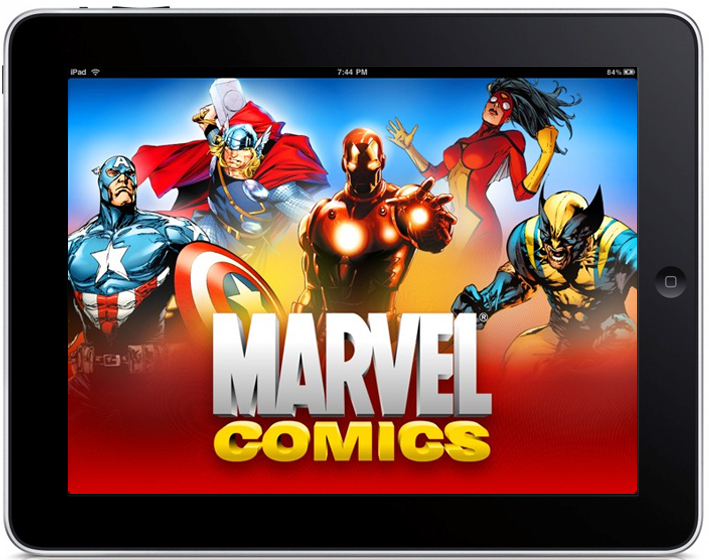 Marvel Comics, de la tipar la digital