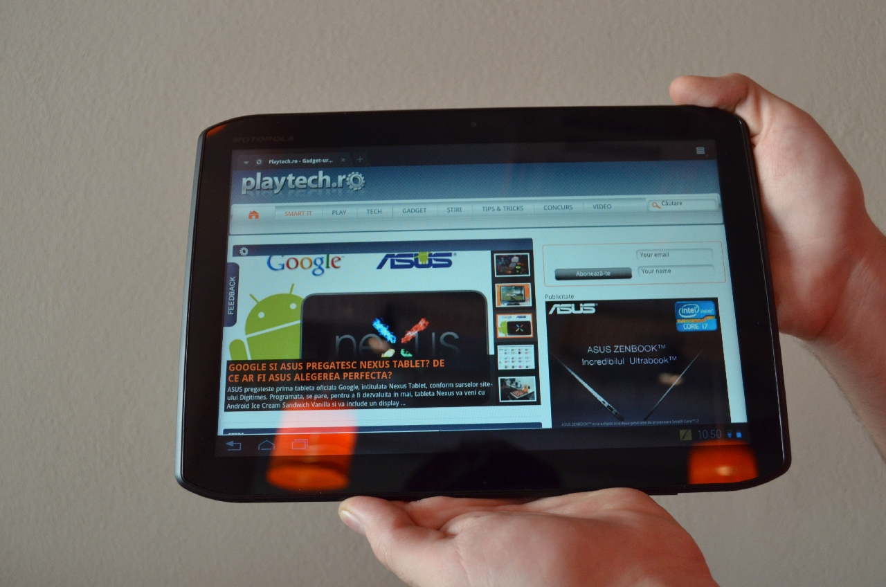 Motorola Xoom 2 – Hands On
