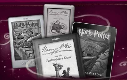 Cartile Harry Potter sunt disponibile in format digital