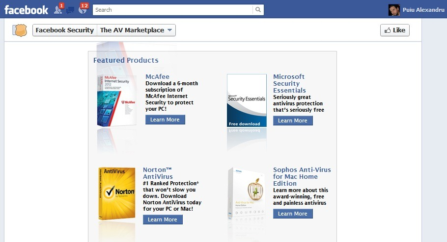 Facebook Marketplace aduce 6 luni de antivirus trial