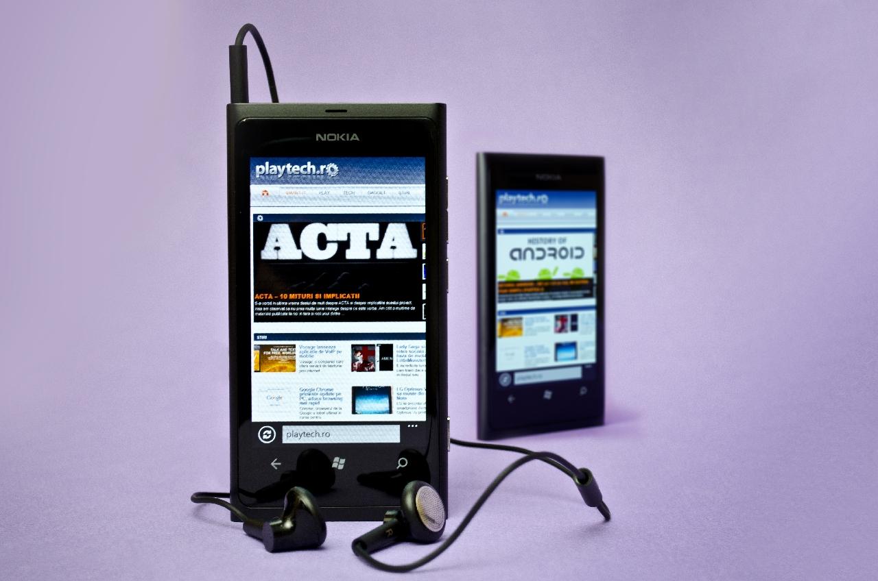 Nokia Lumia 800 este disponibil oficial in Romania, in sfarsit…