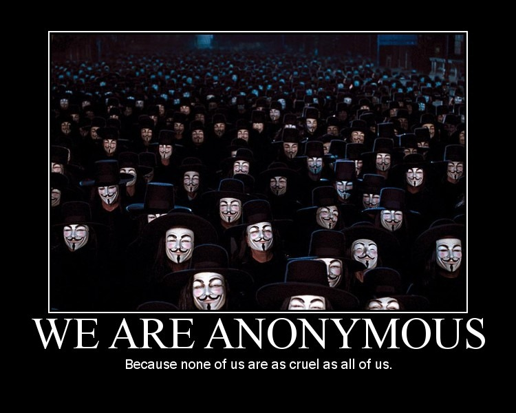 Anonymous ajunge in ASIA – a inceput cu China