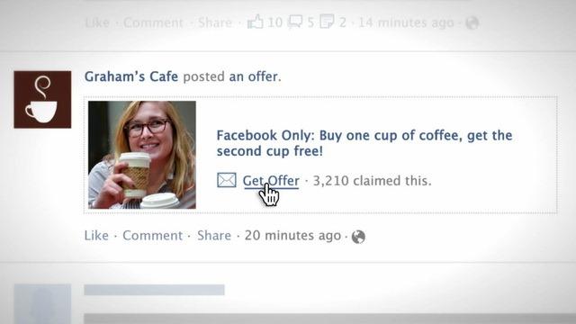 Facebook lanseaza Offers – o noua platforma de promovare