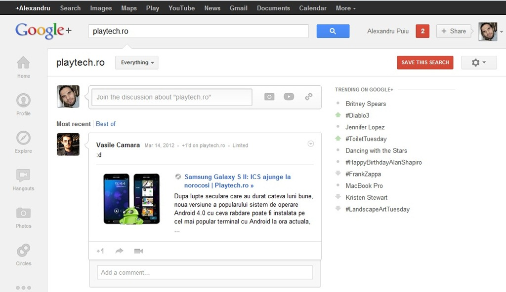 Google investeste in Google+… degeaba